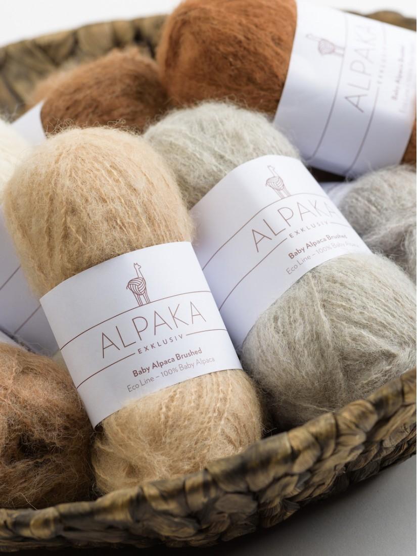 Baby Alpaka Brushed ECO LINE